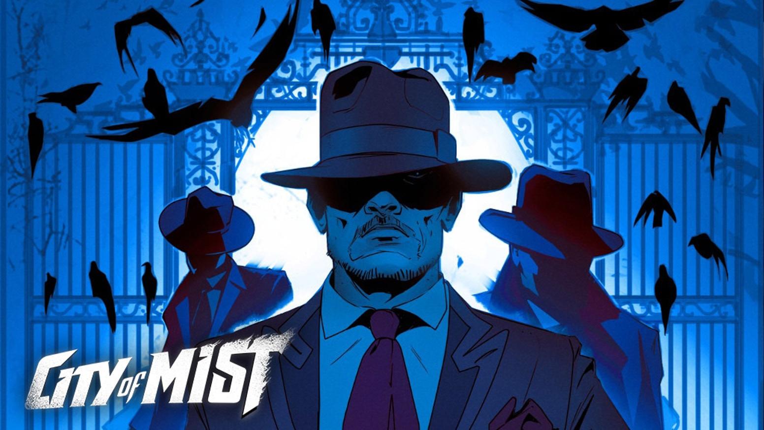 City of Mist – Superhjälte/Noir-rollspel