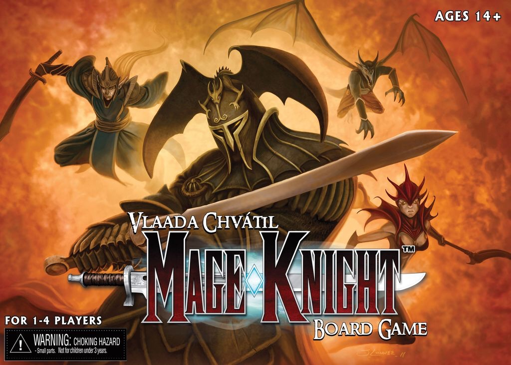 Mage knight – regelkalas