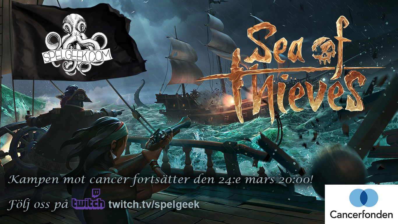 Sea of Thieves-insamlingsstream!