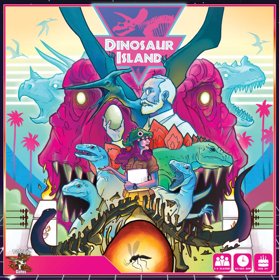 Unboxing! Dinosaur island – Extreme edition